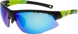 OKULARY GOGGLE E864-1 BLACK/GREEN CAT. 3/1/0