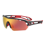 OKULARY CEBE S TRACK MONO M MAT BLACK RED + CLEAR CBMONOM4