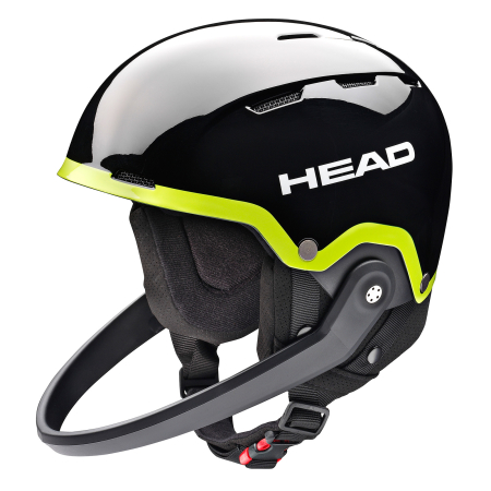 Kask Head TEAM SL black/lime