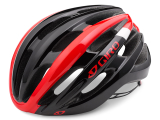 KASK GIRO FORAY  BRIGHT RED BLACK