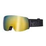 Gogle Head GALACTIC FMR+SpareLens gold