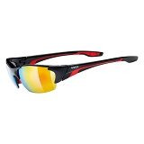 OKULARY UVEX BLAZE III 5306042316 BLACK/RED