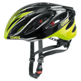 KASK UVEX BOSS RACE BLACK NEON YE 41022916