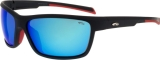 OKULARY GOGGLE E414-3P MATT BLACK/RED CAT.3