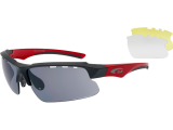 OKULARY GOGGLE FAUN T579-4 CAT.3/0/0 GREY RED