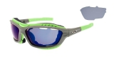 OKULARY GOGGLE T420-2 SYRIES MATT GREY/NEON CAT.2/3