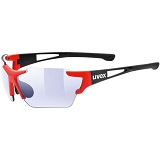 OKULARY UVEX SPORTSTYLE 803 RACE VM Black-Red 5309712303