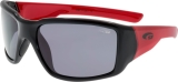 OKULARY GOGGLE E962-1P BLCK/RED CAT.3