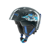 Kask Uvex Manic black snow dog
