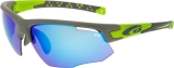 OKULARY GOGGLE E636-3 MATT GREY/GREEN CAT. 3/1/0